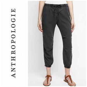 Anthropologie Cloth & Stone Lace Up Joggers